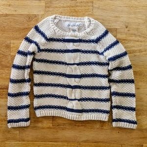 H&M cable knit sweater 2-4 years